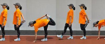Estiramientos pre-sesión para corredores