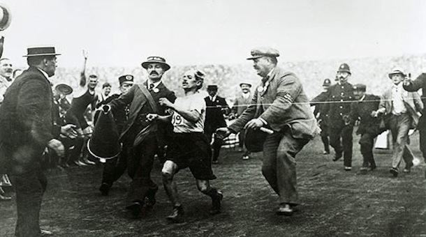 maratón olímpico Londres 1908