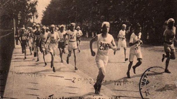 El maratón en los Juegos Olímpicos de Estocolmo 1912