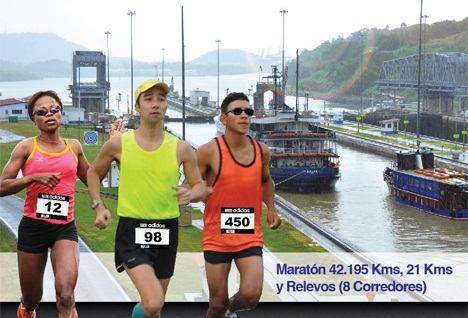 Ruta del XXXVI Maratón Internacional Canal de Panamá 2012 (Pan)