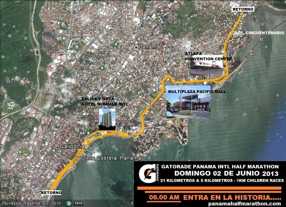 Ruta Panamá 21K