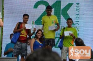 Ganadores 21K plazas 2014