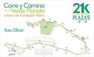 SoyMaratonista Mapa 21K Plazas 2014