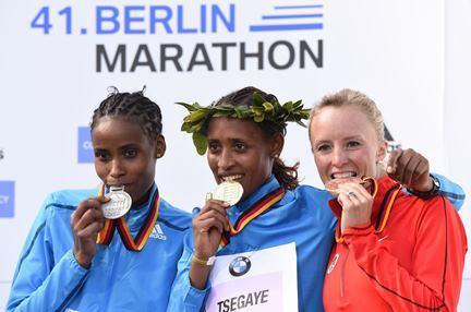 tsegaye, flanagan Maraton de Berlin 2014