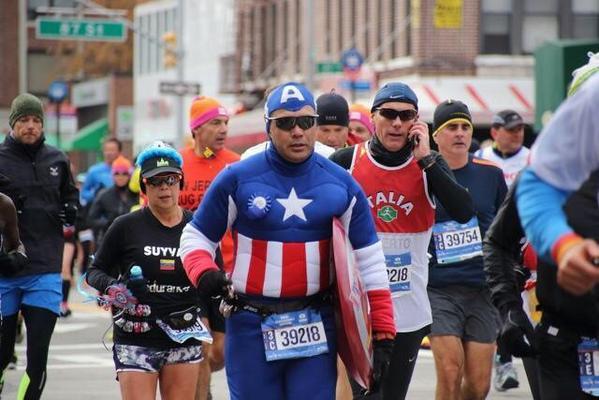 Foto semana NYC maraton