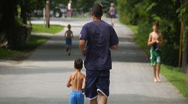 Correr con Papá