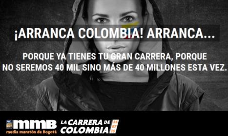 Todo listo para la 16 edición de la Media Maratón de Bogotá