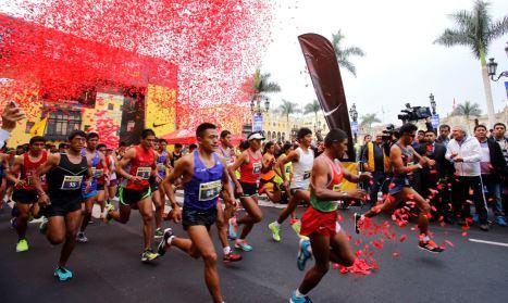 Más de 8 mil corredores presentes en la Media Maratón de Lima 2015
