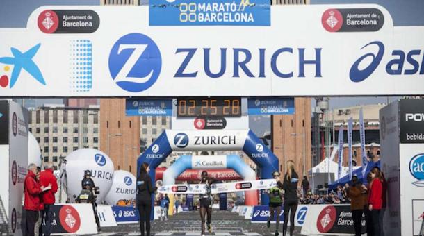 Nuevo récord femenino en Maratón de Barcelona 2016 (Esp)