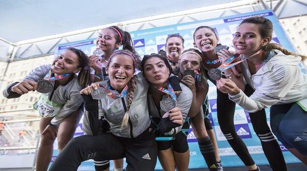 Boost Girls muestran que corren a lo grande en Santiago 2016