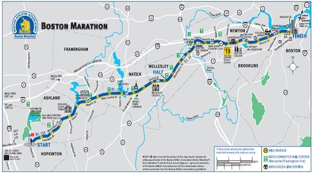 Horarios y transmisión en vivo del Maratón Boston 2019
