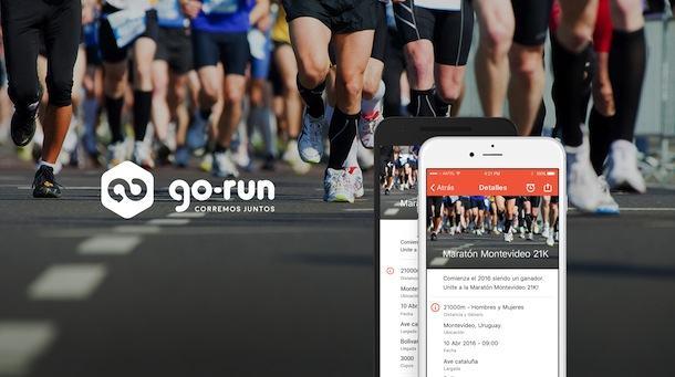 Go Run aplicación de calendario de carreras y maratones
