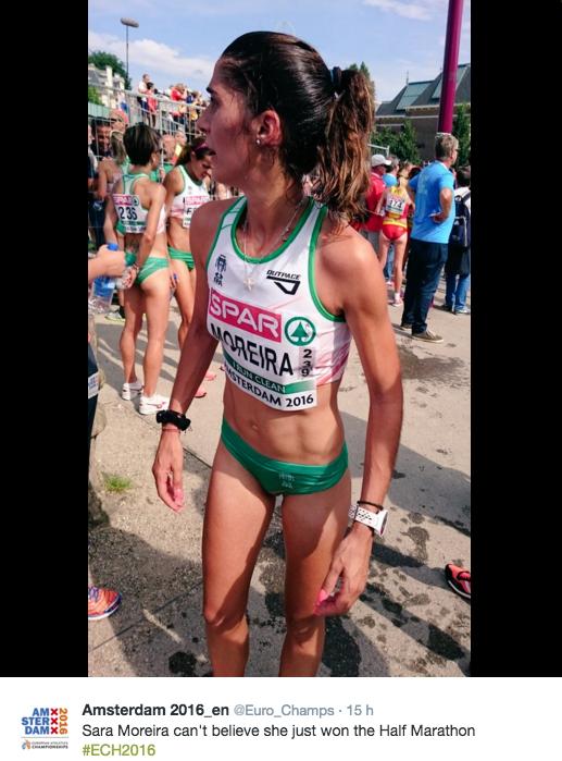 maratonista sara moreira