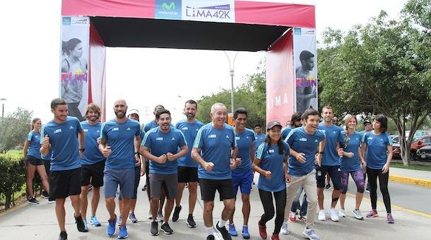 adidas presentó 9na edición del Movistar Lima42K 2017 (Perú)