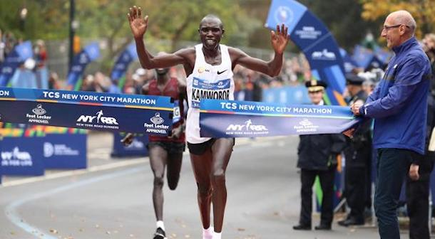 Kamworor Maratón de Nueva York 2017