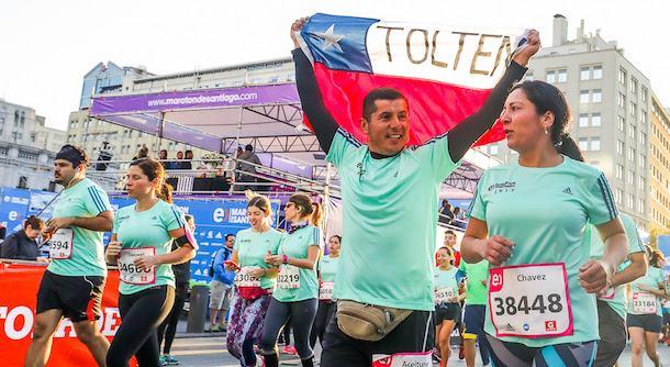 Quedan sólo 5.000 cupos para el Maratón de Santiago 2018