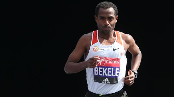Kenenisa Bekele Londres