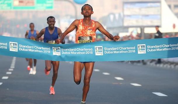 Resultados Maratón de Dubai 2018