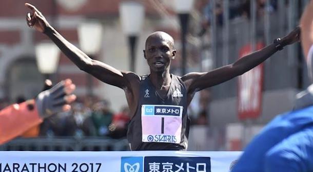 Kipsang regresa para defender su título en Maratón de Tokio 2018