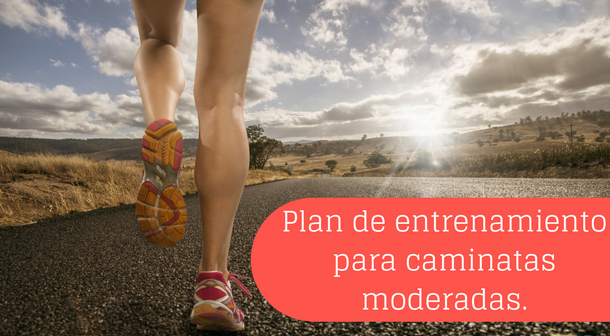 Plan moderado para caminatas