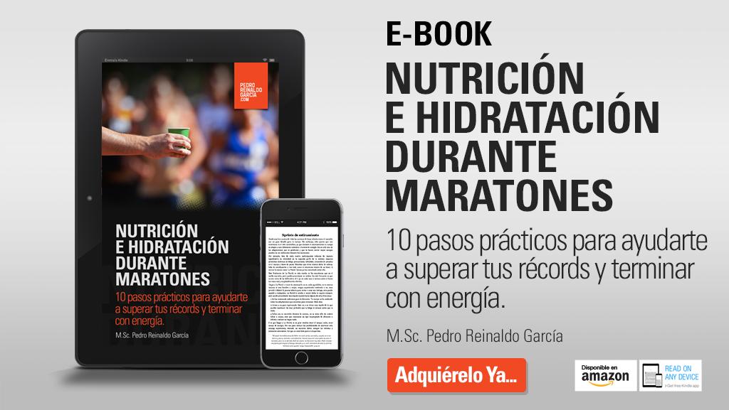 e-book Nutricion e Hidratación durante maratones