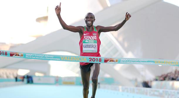 Kamworor Medio Maratón Valencia 2018