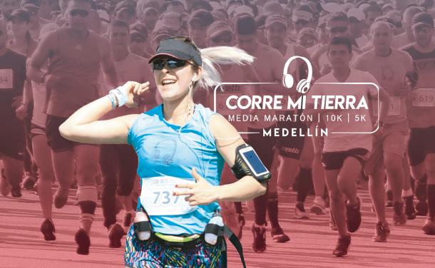 Media maratón Corre Mi Tierra – Medellín
