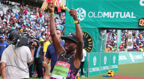 Sudafricano Mthembu repitió triunfo en el Comrades 2018