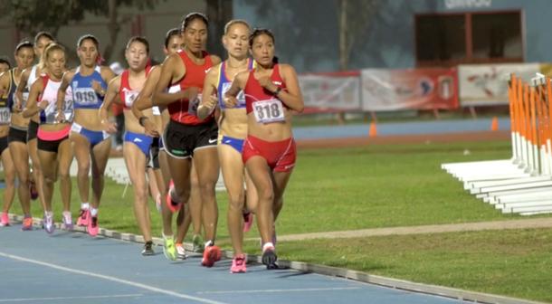 Inés Melchor Maratonista Suramericana
