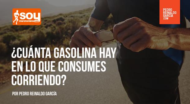 ¿Cuánta gasolina hay en lo que consumes corriendo?