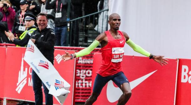 Mo Farah defenderá su título en el maratón de Chicago 2019