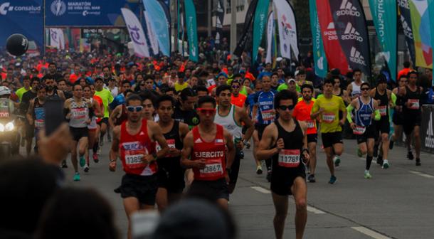 Los keniatas dominaron el maratón de Viña del Mar 2018