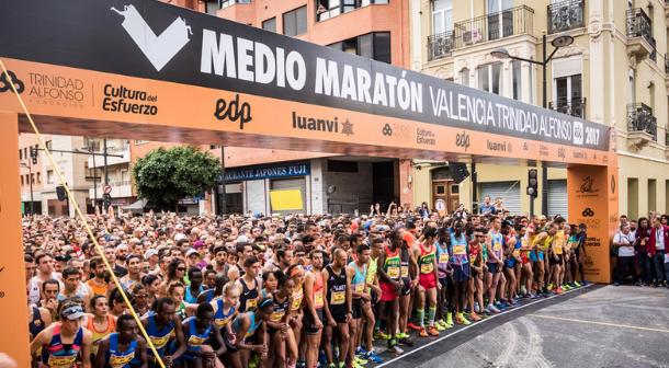Cheroben y Fancy Chemutai a la caza del récord en el Medio Maratón de Valencia 2018
