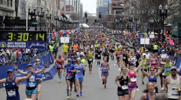 Imagen del Maratón de Boston 2019