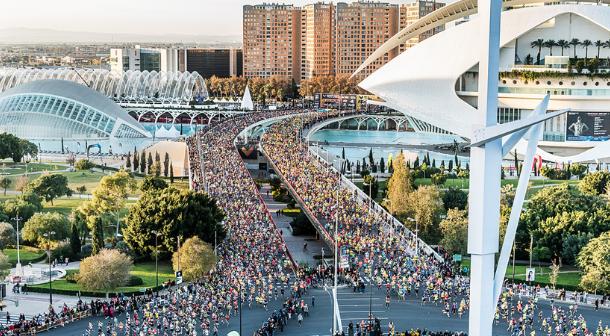 Maratón Valencia fija su límite de participantes en 25 mil para 2019