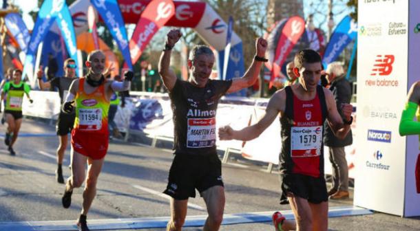 El español Martín Fiz logra récord del Mundo en 10K para mayores de 55 años