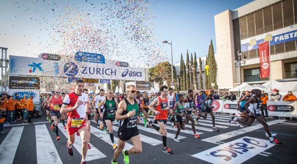Asics toma medidas para reducir emisiones de CO2 en Maratón de Barcelona