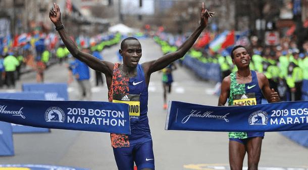 Cherono y  Degefa los grandes ganadores del Maratón de Boston 2019
