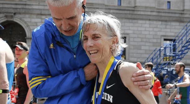 40 años después Joan Benoit vuelve a hacer historia en Boston