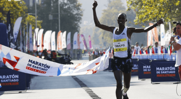 Jacob Kibet y Gladys Yepkemoi  triunfadores en Maratón de Santiago de Chile 2019