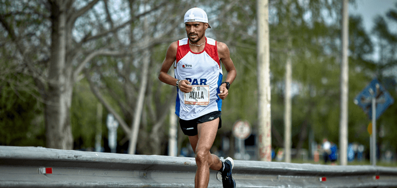 El fondista Derlys Ayala, figura del atletismo paraguayo