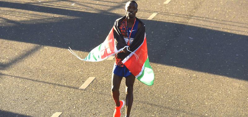 Bedan Karoki ganó con récord en Medía Maratón de Buenos Aires 2019