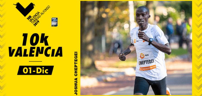 Joshua Cheptegei  intentará el récord del mundo en el 10K Valencia Trinidad Alfonso