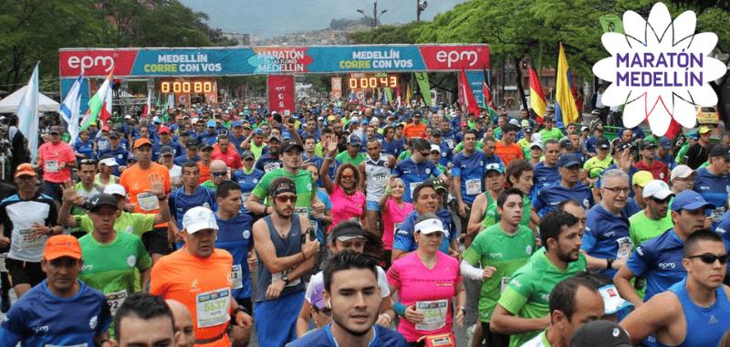 Maratón Medellín, 25 años haciendo historia en el atletismo nacional e internacional