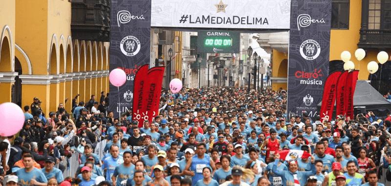 Los locales se imponen en la Media Maratón de Lima 2019