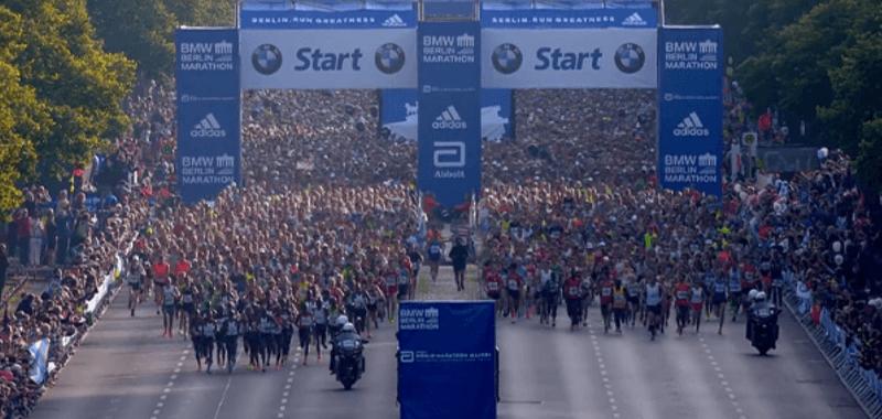 Maratón de Berlín: Una experiencia visual
