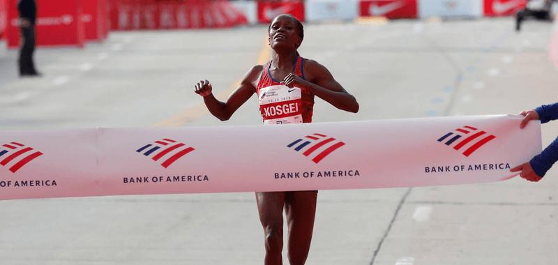 Nuevo récord mundial en la categoría femenina: Brigid Kosgei destrona a Paula Radcliffe