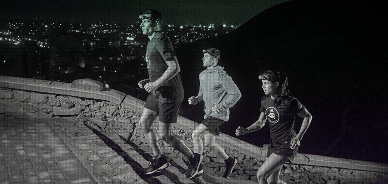 La carrera nocturna Lima Night Run