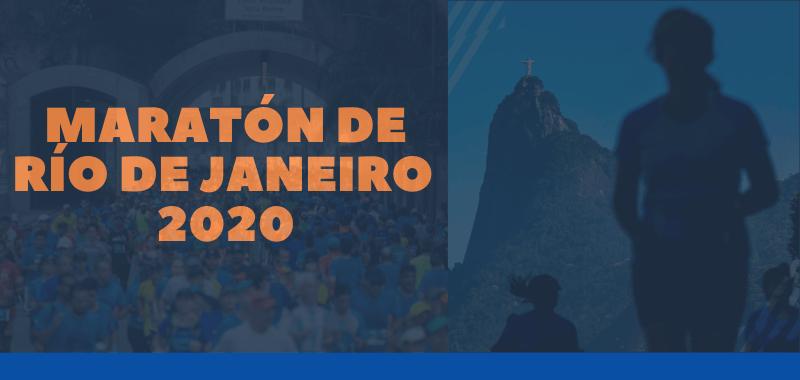 Todo lo que quieres saber sobre el Maratón de Río de Janeiro 2020