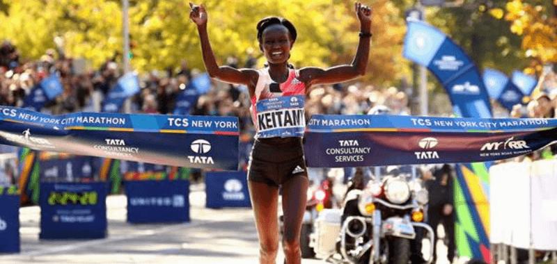 Mary Keitany necesita 4 meses de entrenamiento para volver a correr